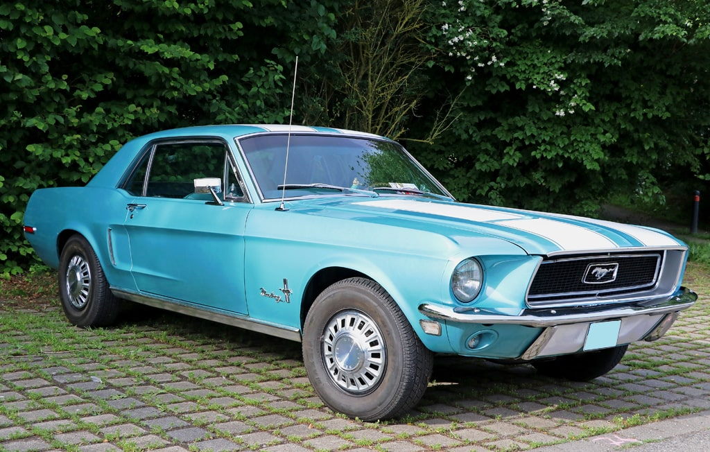 Anciennes et collection Mustang